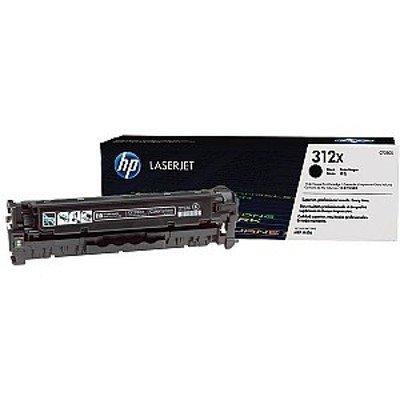 Тонер-картридж для лазерных аппаратов HP 312X CF380XD черный (CF380XD)Тонер-картриджи для лазерных аппаратов HP<br>для Color LaserJet Pro M476 (8800стр.)<br>