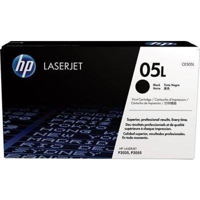Тонер-картридж для лазерных аппаратов HP CE505L черный (CE505L)