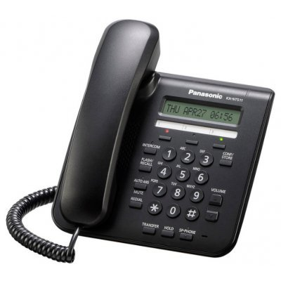 VoIP-телефон Panasonic KX-NT511ARUB (KX-NT511ARUB) practical voip security