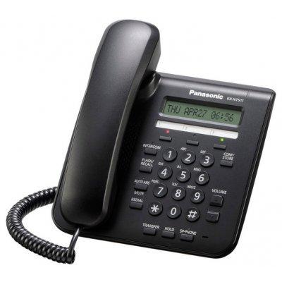 VoIP-телефон Panasonic KX-NT511ARUB (KX-NT511ARUB) телефон нокиа черно белый в кривом роге