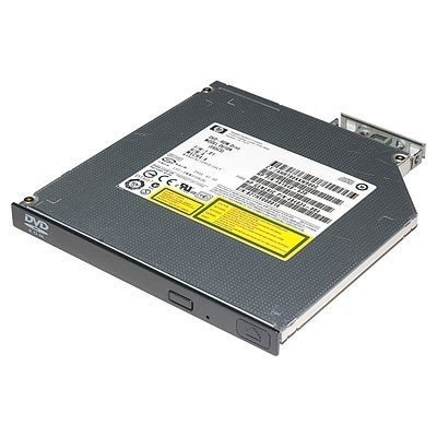 Оптический привод DVD для сервера HP SATA DVD-ROM, 9.5mm, JackBlack Optical Drive (726536-B21) (726536-B21)