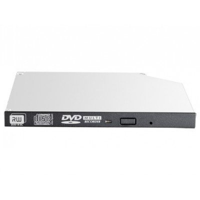 Оптический привод DVD для сервера HP SATA DVD-RW, 9.5mm, JackBlack Optical Drive (726537-B21) (726537-B21)