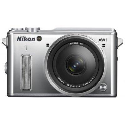 Цифровая фотокамера Nikon 1 AW1 Kit 11–27.5mm черный (AW1/11-27.5/Black)