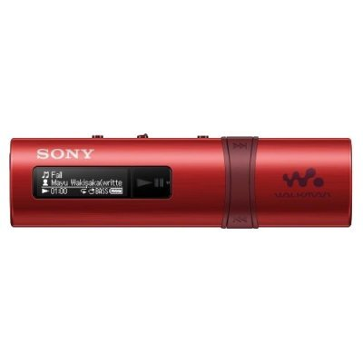 Цифровой плеер Sony NWZ-B183F 4Gb красный (NWZ-B183F/R), арт: 212903 -  Цифровые плееры Sony