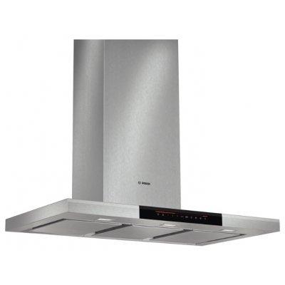 Вытяжка Bosch DWB 091 K 50 IX (DWB091K50)Вытяжки Bosch<br>каминная вытяжка монтируется к стене отвод / циркуляция для стандартных кухонь ширина для установки 90 см мощность 269 Вт мощность двигателя 260 Вт электронное управление дисплей<br>