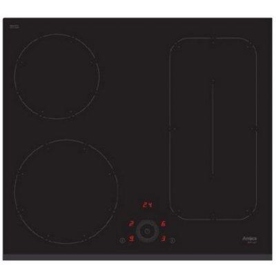 Электрическая варочная панель Hansa BHI68628 (BHI68628)Электрические варочные панели Hansa<br>Встраиваемые электрические панели Hansa/ 60x50 см, индукционная, стеклокерамика, независимая, черная<br>