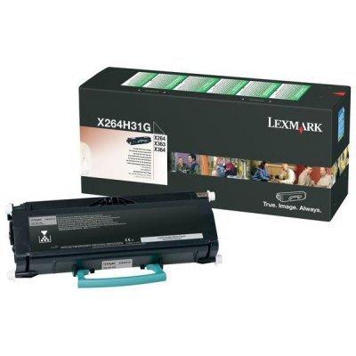 Тонер-картридж для лазерных аппаратов Lexmark X264H31G (X264H31G) картридж lexmark 12a5845 черный