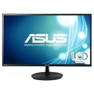 Монитор ASUS 23.6 VN247HA черный (90LMGF101T02271C-)Мониторы ASUS<br>TN+film LED 16:9 HDMI M/M матовая 250cd 1920x1080 D-Sub 1080p<br>