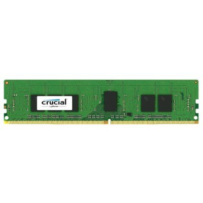 Модуль оперативной памяти ПК Crucial CT4G4RFS8213 4GB DDR4 (CT4G4RFS8213) new memory 803026 b21 4gb 1x4gb single rank x8 pc4 17000 ddr4 2133 registered cas 15 ecc one year warranty