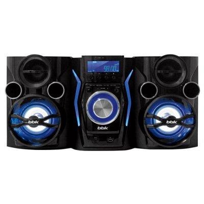 Аудио минисистема BBK AMS110BT (AMS110BT)Аудио минисистемы BBK<br>мощность: 120Вт, поддержка CD, эквалайзер, интерфейс USB, Bluetooth, пульт ДУ<br>