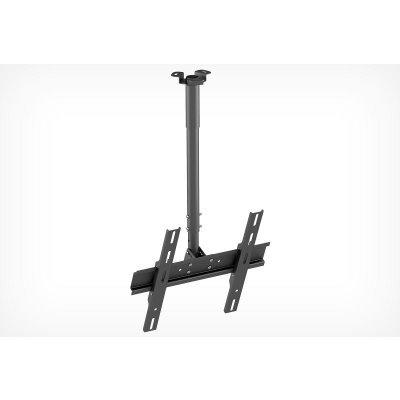 Кронштейн для ТВ и панелей потолочный Holder PR-101-B 32-65 черный (PR-101-B) тумба holder albero tv 37140 н черная