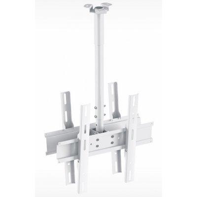 Кронштейн для ТВ и панелей потолочный Holder PR-102-W 32-65 белый (PR-102-W) тумба holder albero tv 37140 н черная