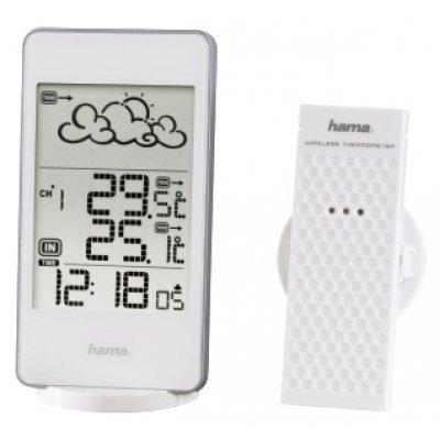 Метеостанция Hama EWS-850 белый (123124) метеостанция цифровая hama ews 800 h 76045
