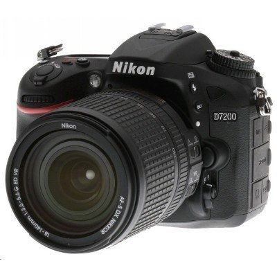 Цифровая фотокамера Nikon D7200 KIT 18-140 VR черный (VBA450KR01) (VBA450KR01) профессиональная цифровая slr камера nikon d3300 18 140 18 105mm