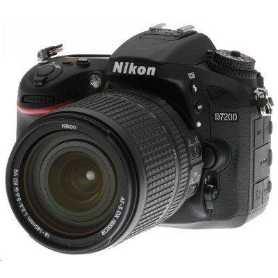 Цифровая фотокамера Nikon D7200 KIT 18-105 VR черный (VBA450K001) (VBA450K001) зеркальный цифровой фотоаппарат nikon d7200 kit 18–105 vr