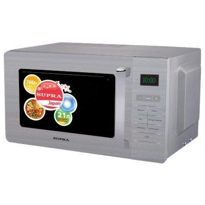 Микроволновая печь Supra MWS-2103SS (MWS-2103SS) микроволновая печь supra mws 2103ss