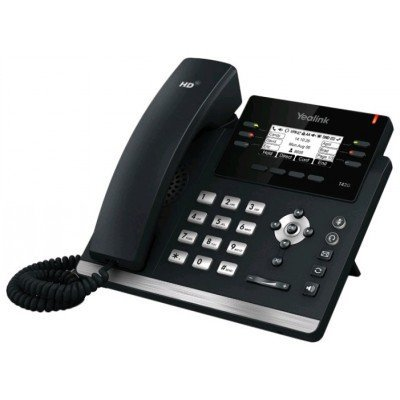 VoIP-телефон Yealink SIP-T41P, 3 линии, BLF, PoE, БЕЗ БП (SIP-T41P) practical voip security