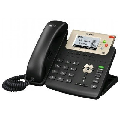 VoIP-телефон Yealink SIP-T23G (SIP-T23G) practical voip security