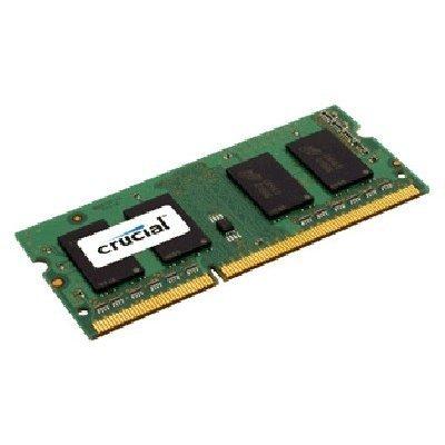 Модуль оперативной памяти ПК Crucial by Micron DDR-III 4GB (CT51264BF160B) (CT51264BF160B)Модули оперативной памяти ПК Crucial<br>(PC3-12800) 1600MHz SO-DIMM CL11 1.35/1.5V (Retail)<br>