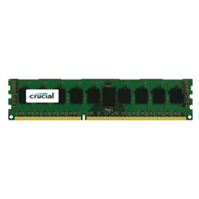 Модуль оперативной памяти ПК Crucial by Micron DDR-III 8GB (CT8G3ERSDD8186D) (CT8G3ERSDD8186D)Модули оперативной памяти ПК Crucial<br>1 модуль памяти DDR3 объем модуля 8 Гб форм-фактор DIMM, 240-контактный частота 1866 МГц поддержка ECC CAS Latency (CL): 13<br>