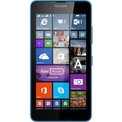 Смартфон Microsoft Lumia 640 LTE Dual Sim голубой (640 LTE DS Cyan)Смартфоны Microsoft<br>5,0(1280x720)IPS Cam(8/0,9) MSM8926 1200МГц(4) (1/8)Гб microSD до 128Гб WinPhone 8.1 GPS 2500мАч Синий 640 LTE DS Cyan<br>