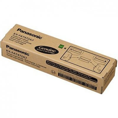 Тонер для лазерных аппаратов Panasonic KX-FAT472A7 черный (KX-FAT472A7) телефон panasonic kx dt546rub черный