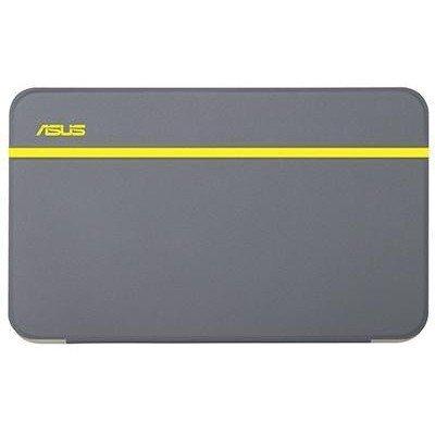 Чехол для планшета ASUS для Memo Pad 7 ME176C серебристый-желтый (90XB015P-BSL1M0)Чехлы для планшетов ASUS<br>Чехол Asus для Memo pad 7 ME176C/ME176CX MagSmart Cover Silver/Yellow 90XB015P-BSL1M0<br>