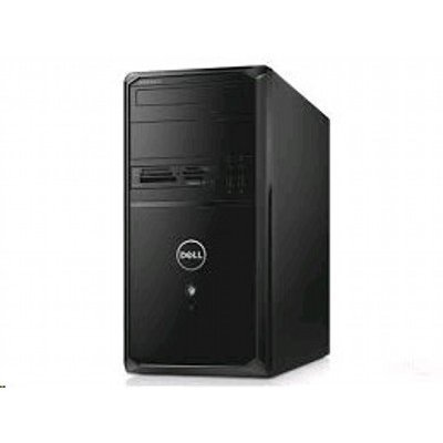 Настольный ПК Dell Vostro 3900 MT (3900-7504) (3900-7504)Настольные ПК Dell<br>Dell Vostro 3900 MT, Ci3 4170(3.7GHz, 3MB, DC), 4GB(1x4) DDR3, 500GB SATA, Intel HD4400, DVD+/-RW, 19-in-1 CR, Ubuntu, Kеу, Mouse, 1 Y Basic NBD<br>