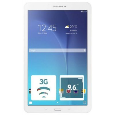 Планшетный ПК Samsung Galaxy Tab E 9.6 SM-T561N 8Gb белый (SM-T561NZWASER)Планшетные ПК Samsung<br>Планшет Samsung Galaxy TAB E 9,6(1280x800) 3G Cam(5/2) SC8830 1300МГц(4) (1,5/8)Гб microSD до 128Гб A5.0 GPS 5000мАч Белый SM-T561NZWASER<br>