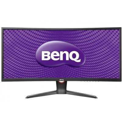 Монитор BenQ 35 XR3501 черный (9H.LE7LB.QBE) (9H.LE7LB.QBE)Мониторы BenQ<br>35 (2560х1080), 21:9, 2000R LED, 300 кд/м2, 20M:1, 2000:1, 12 (4) мс, углы обзора: 178/178, HDMI 1.4 x 2, DP 1.2, miniDP, цвет: черный, вес: 11.1 кг<br>