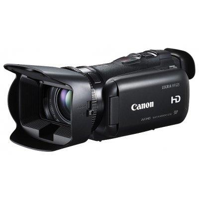 Цифровая видеокамера Canon LEGRIA HF G25 черный (8063B004)Цифровые видеокамеры Canon<br>видеокамера с 10x зумом<br>    запись видео Full HD 1080p на флэш-память<br>    матрица 2.37 МП (1/3)<br>    карты памяти SD, SDHC, SDXC<br>    32 Гб встроенной флэш-памяти<br>    оптический стабилизатор изображения<br>    вес: 565 г<br>