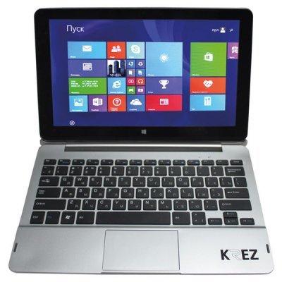 Планшетный ПК KREZ TM1101S32 3G (TM1101S32 3G)Планшетные ПК KREZ<br>11.6 IPS 1920х1080, емкостной мультитач, Intel Baytrail-T Z3735F 1.3GHz (Quad-core), оперативная память 2Гб, встроенная 32GB, 3G, Bluetooth 4.0, WiFi 802.11 a/b/g/n, камеры: 2 млн пикс тыловая, 2 млн пикс фронтальная, аккумулятор 8000mAh, клавиатура, Windows 8.1 with Bing<br>
