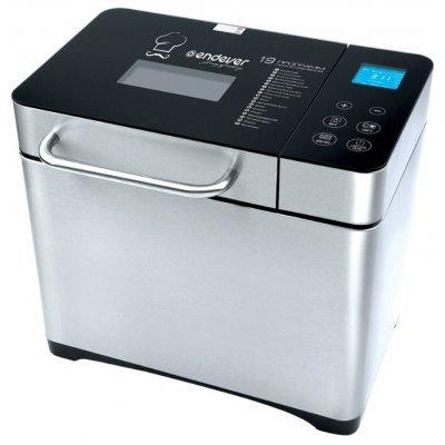 Хлебопечь Endever MB-53 (MB-53)Хлебопечи Endever<br>хлебопечка<br>    вес выпечки 900 г<br>    вес выпечки регулируется<br>    выпечка в форме буханки<br>    выбор цвета корочки<br>    19 автоматических программ<br>    автоматическое добавление дополнительных ингредиентов<br>