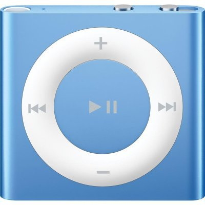 Цифровой плеер Apple iPod shuffle 2GB - Blue (MKME2RU/A) (MKME2RU/A)Цифровые плееры Apple<br>Тип: MP3-плеер Дисплей: отсутствует Тип управления: кнопки Количество кнопок управления: 6 (джойстик и VoiceOver) Объем памяти: 2 Гб Количество песен: 500 Разъемы: 3.5 мм Подключение к ПК: USB<br>