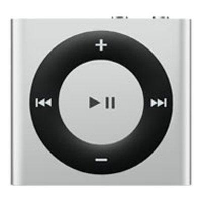 Цифровой плеер Apple iPod shuffle 2GB - White &amp; Silver (MKMG2RU/A) (MKMG2RU/A)Цифровые плееры Apple<br>Вес: 12.5 г,Программное обеспечение: доп.опция,Воз-ть использования как Flash диск: Да,Воспроизведение AAC: Да,Время зарядки аккумулятора: до 3 часов,Воспр. в случайном порядке: Да,Повторение произведения: Да,Габаритные размеры (В*Ш*Г): 29*32*8 мм,Крепление на одежду: Да,Функция VoiceOver: Да,Кратко ...<br>