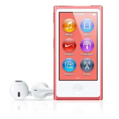 Цифровой плеер Apple iPod nano 16GB - Pink (MKMV2RU/A) (MKMV2RU/A)Цифровые плееры Apple<br>iPod nano 16GB - Pink (MKMV2RU/A)<br>