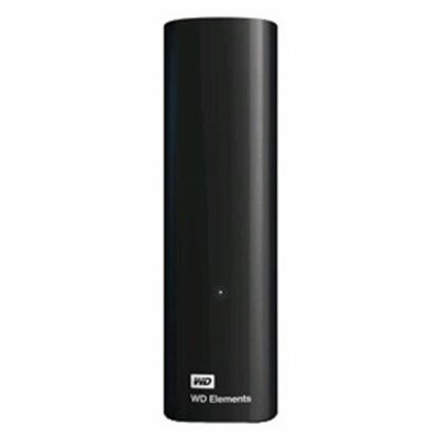 Сетевой накопитель NAS Western Digital Elements Desktop 4TB (WDBWLG0040HBK-EESN) (WDBWLG0040HBK-EESN) внешний жесткий диск 3 5 4000gb wd elements desktop wdbwlg0040hbk eesn usb3 0 черный