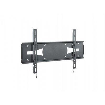 Кронштейн для ТВ и панелей настенный Holder PFS-4017 32-60 черный (PFS-4017 BLACK)Кронштейн для ТВ и панелей Holder<br>Кронштейн телевизионный Holder PFS-4017 черный 32-60 макс.45кг настенный фиксированный<br>
