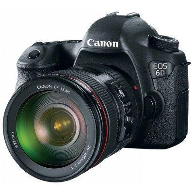 Цифровая фотокамера Canon EOS 6D EF 24-105 IS STM (8035B108) (8035B108)Цифровые фотокамеры Canon<br>EOS 6D EF 24-105 IS STM, черный, 20Mpx CMOS 35мм, оптическая стаб. объектива, HD1080/30, экран 3.0  , Li-ion (8035B108)<br>
