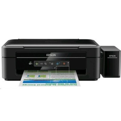 Цветной струйный МФУ Epson L366 (C11CE54403) струйный принтер epson l132