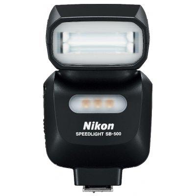 Вспышка для фотоаппарата Nikon Speedlight SB-500 (FSA04201) i ttl wireless flash radio trigger kit transmitter receiver for nikon sb910 sb900 sb700 speedlight photo studio light camera