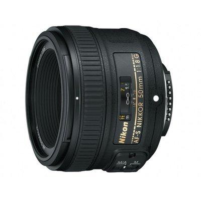 Объектив для фотоаппарата Nikon 50mm f/1.8G AF-S Nikkor (JAA015DA) nikon af s nikkor 50mm f 1 4g