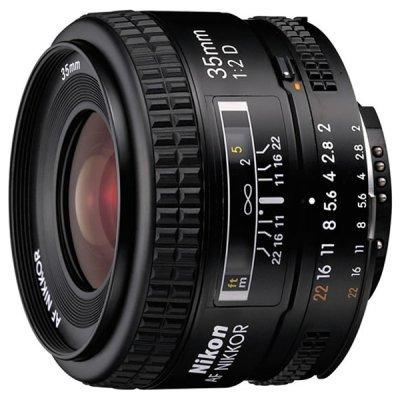 Объектив для фотоаппарата Nikon 35mm f/2D AF Nikkor (JAA129DA) объектив для фотоаппарата