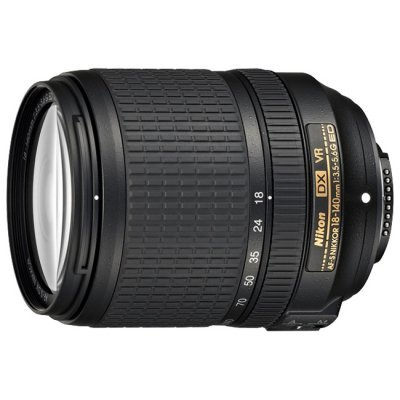 Объектив для фотоаппарата Nikon 18-140mm f/3.5-5.6G ED VR DX AF-S (JAA819DA)Объективы для фотоаппарата Nikon<br>Объектив Nikon AF-S DX 18 - 140мм F/3.5-5.6 G VR<br>