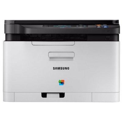 Цветной лазерный МФУ Samsung Xpress C480W (SL-C480W/XEV) цветной лазерный принтер samsung xpress c430 sl c430 xev