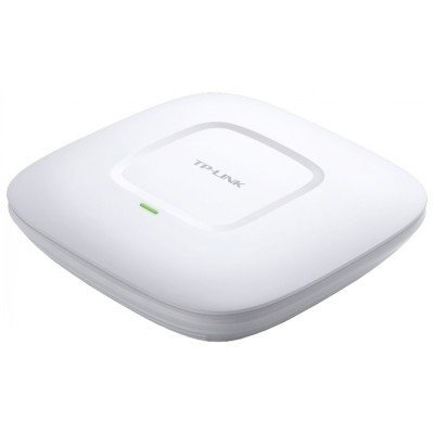 Wi-Fi точка доступа TP-link EAP120 (EAP120)Wi-Fi точки доступа TP-link<br>TP-Link EAP120 300Mbps Wireless N Gigabit Ceiling/Wall Mount Access Point, QCA (Atheros), 300Mbps at 2.4Ghz, 802.11b/g/n, 802.3af PoE Supported, 1 10/100/1000Mbps LAN port, Centralized Management, Captive Portal,<br>
