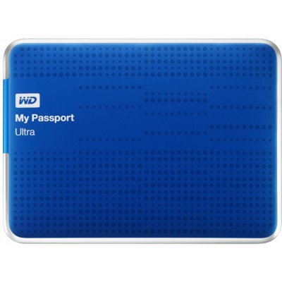 Внешний жесткий диск Western Digital WDBNFV0030BBL-EEUE 3000Gb (WDBNFV0030BBL-EEUE)Внешние жесткие диски Western Digital<br>Жесткий диск WD My Passport Ultra WDBNFV0030BBL-EEUE 3000GB 2,5 5400RPM USB 3.0 Blue External<br>