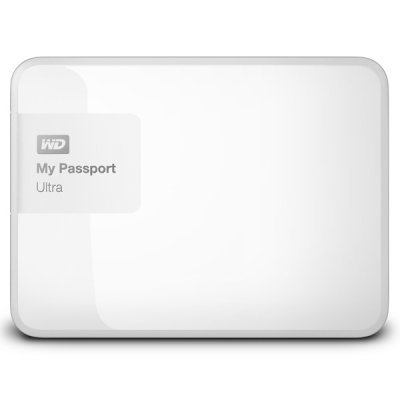 Внешний жесткий диск Western Digital WDBDDE0010BWT-EEUE (WDBDDE0010BWT-EEUE)Внешние жесткие диски Western Digital<br>Жесткий диск WD My Passport Ultra WDBDDE0010BWT-EEUE 1000GB 2,5 5400RPM USB 3.0 White External<br>