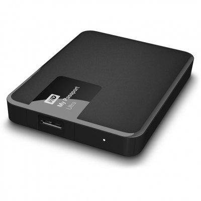 Жесткий диск ПК Western Digital WDBDDE0010BBK-EEUE (WDBDDE0010BBK-EEUE)Жесткие  диски ПК Western Digital<br>Жесткий диск WD My Passport Ultra WDBDDE0010BBK-EEUE 1000GB 2,5 5400RPM USB 3.0 Black External<br>