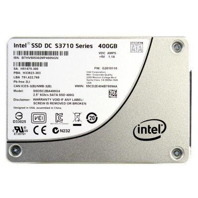 Накопитель SSD Intel SSDSC2BA400G401 400Gb (SSDSC2BA400G401)Накопители SSD Intel<br>Intel S3710 Enterprise Series SATA-III Solid-State Drive 400Gb 2,5 SSD (Retail)<br>